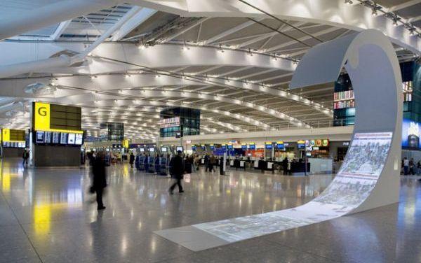 Πιο εύκολα τα αεροπορικά ταξίδια , Τεστ PCR Covid-19 στο αεροδρόμιο Heathrow με αποτέλεσμα σε 3 ώρες
