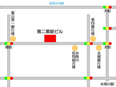 第二黒姫ビル地図