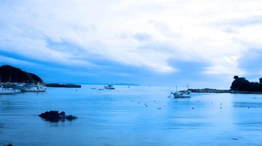 三浦半島の海