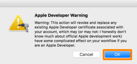 Apple-Developer-Warning