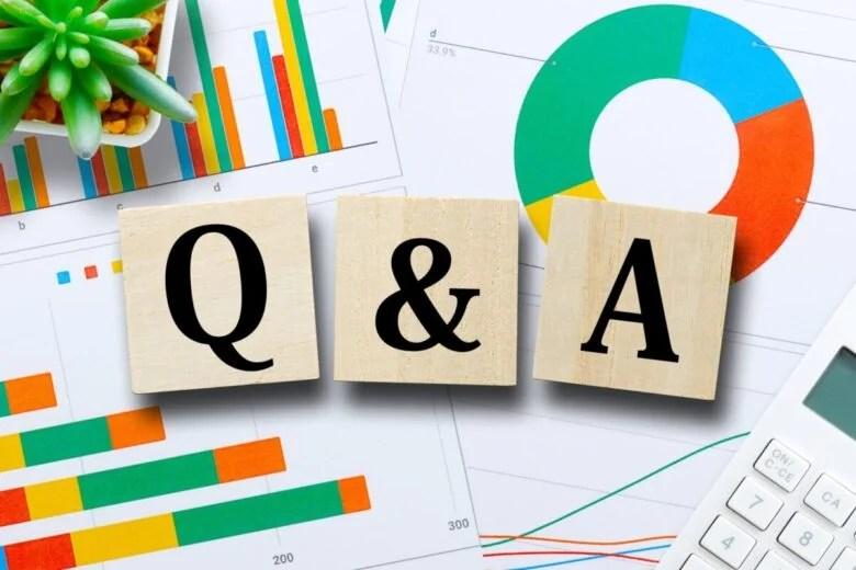 クイズ問題Q&Aの写真