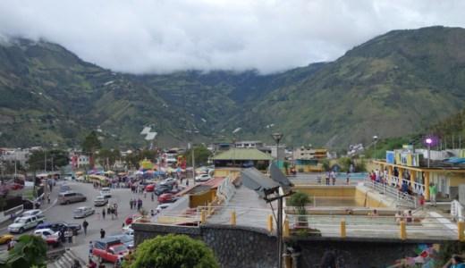 2/15 エクアドルの別府!?「温泉街・バーニョス(Baños)」, Baños , Ecuador