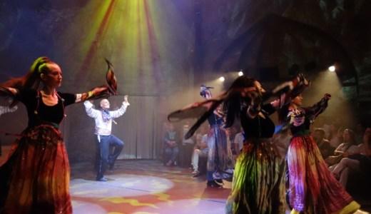 8/27 イスタンブールで気軽に、ハイレベルの民族舞踊を楽しむならホジャパシャ(Hodjapasha)だ! , Istanbul , Turkey