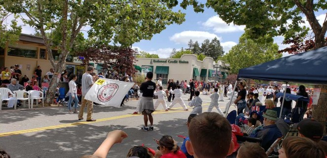Parade demonstration