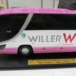『WILLER TRAVEL』のピンクの高速バスの快適シートで帰省やレジャーがいいね!