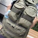 『エディー・バウアー』のカーゴパックを夫がマレーシア旅行に持って行った