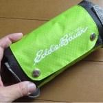 エディー・バウアー『コンパクトサイドジッパーバッグ』はカッコいい大容量サブバッグ