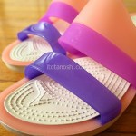 クロックス『ColorBlock wedge w(カラーブロック ウェッジ ウィメン)』夏だからきれいな色のサンダルを履こう!