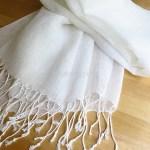 夏の暑さ、冷房の寒さに気持ちがいいストール『帝国繊維 リネン100%ふんわりストール』は上質なリネン