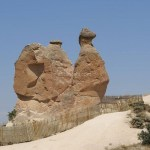 【トルコ旅行】カッパドキアのデヴレント(らくだ岩)