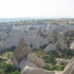 【トルコ旅行】カッパドキアのギョレメの谷(ギョレメ・パノラマ)
