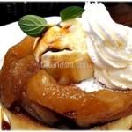 星乃珈琲店の冬のおすすめ『キャラメルりんごのスフレパンケーキ』は屁理屈こねてても美味しいんだ