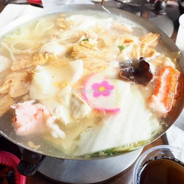 白菜と肉のひとり火鍋。#台湾 #鹿港 #火鍋 #白菜 #豚肉 #おひとりさま