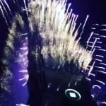 【台湾旅行】台北101の真下から見る花火
