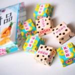 【台湾好き】チロルチョコのたいわんスイーツ、パイナップルケーキとタピオカミルクティー
