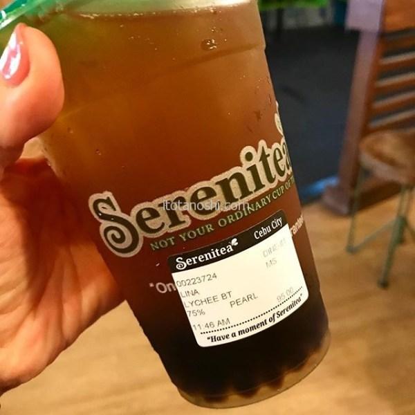 最高に美味しい、タピオカライチティー。毎日飲みたい!#セブ島 #cebu #フィリピン #Philippines #タピオカティー #ライチ #Philippines ライチティー #紅茶 #タピオカ #instasweet #instalover #instalovers #inststravel
