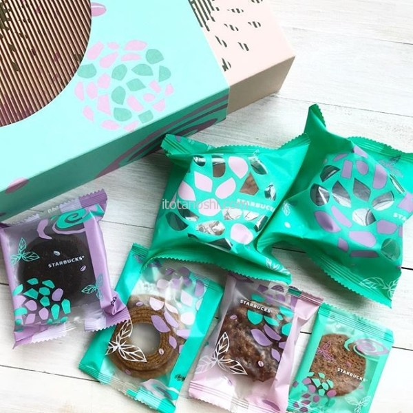 【台湾】台湾スターバックスコーヒーの月餅のセット「月光花園」