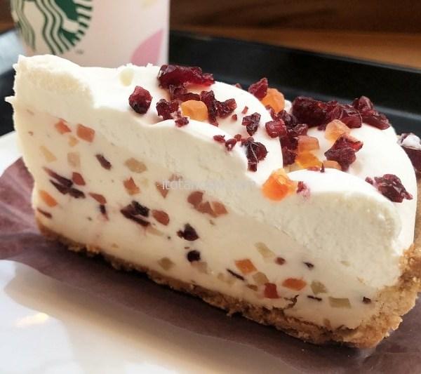 フルーツレアチーズケーキ@スターバックスコーヒーを語る
