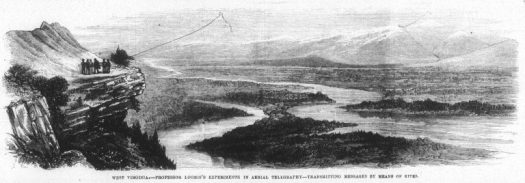 Loomis wireless telegraph illustration