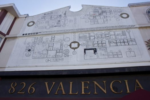 The 826 Valencia facade