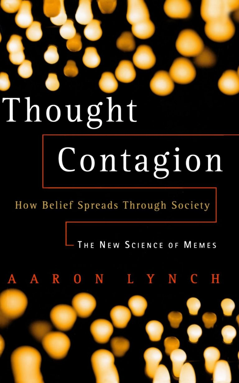 Thought Contagion cover