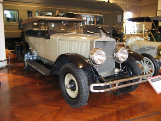 A 1924 Doble Model E at the Henry Ford Museum
