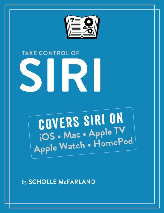 Take Control of Siri cover