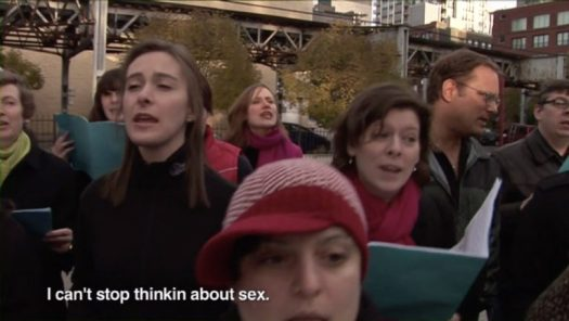 A complaints choir in Chicago, 2007