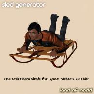 Land of Nodd Sled Generator