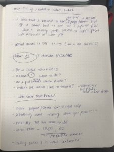 Emily's notes with feedback