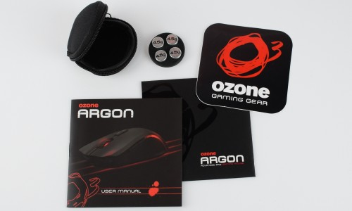 Ozone Argon - akcesoria