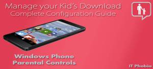 windows phone parental controls featuring image