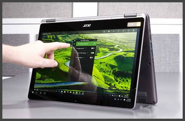 best laptop for writers acer aspire r15