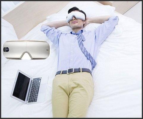best stress relief gadgets - Water Powered Eye Massagers