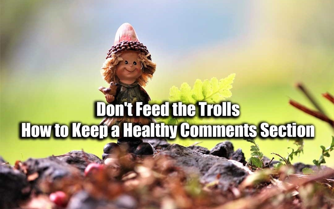 Don't Feed the Trolls: How to Keep a Healthy Comments Section