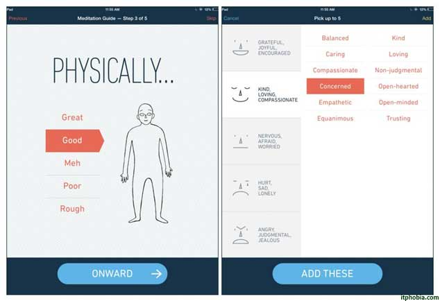 fitness tracker app stop breathe and think