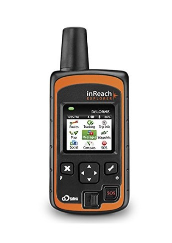 gps tracking device DeLorme's InReach Explorer ($379) is for Serious Adventurers