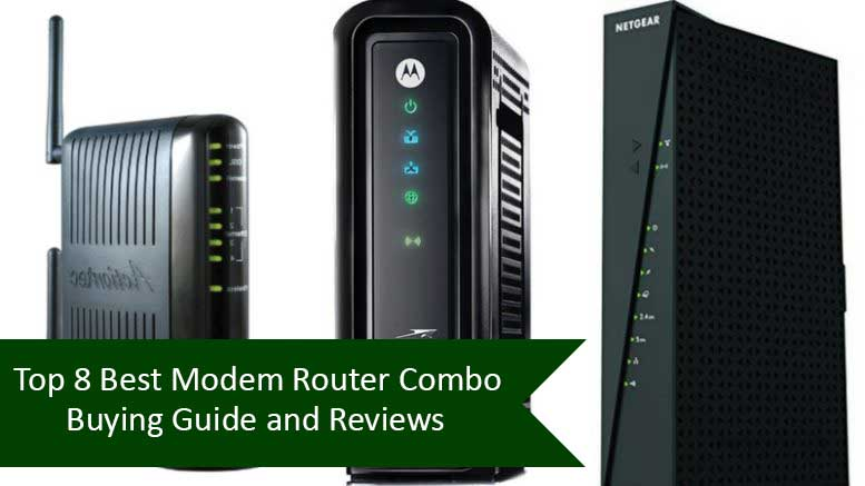 best modem router combo Featured image