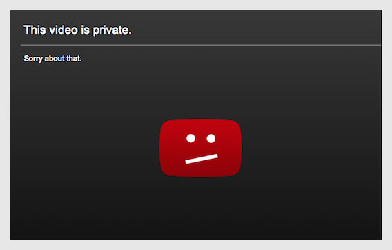 how to watch private youtube videos - private