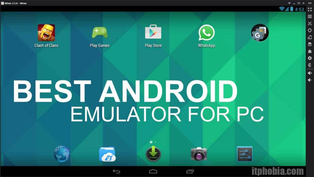 android emulator for windows 10