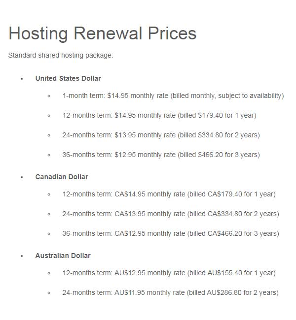 Lunarpages vs FatCow-hosting renewal prices
