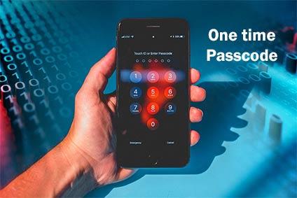 onetime passcode
