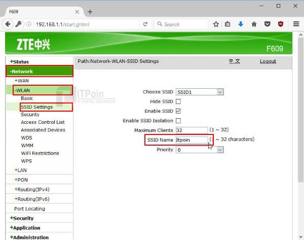 Cara Mengganti Nama WiFi dan Password WiFi IndiHome