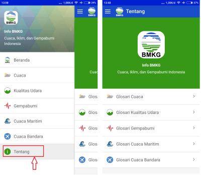 info BMKG untuk Android