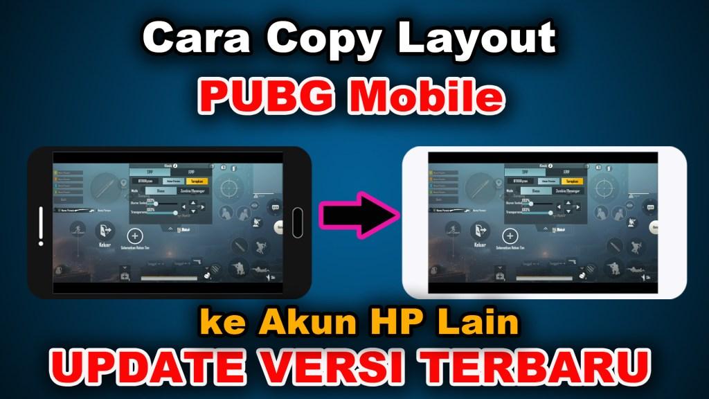 copy layout PUBG dari hp lain
