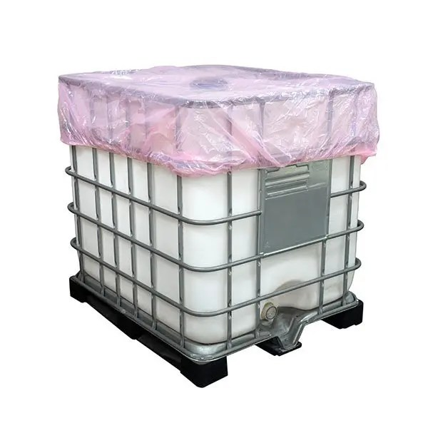Elasticated Polythene Covers for IBC s