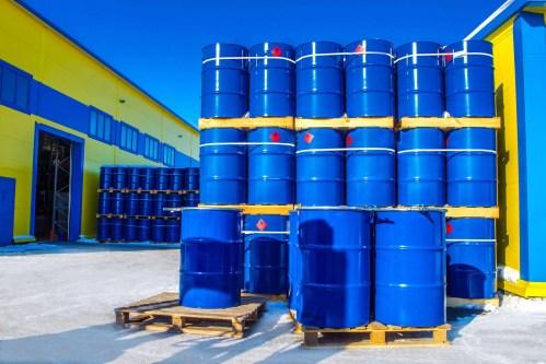 Metal Storage Drums