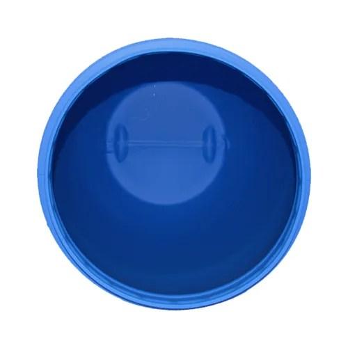 Inside open top plastic drum