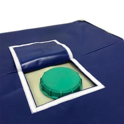 pvc waterproof ibc cover top