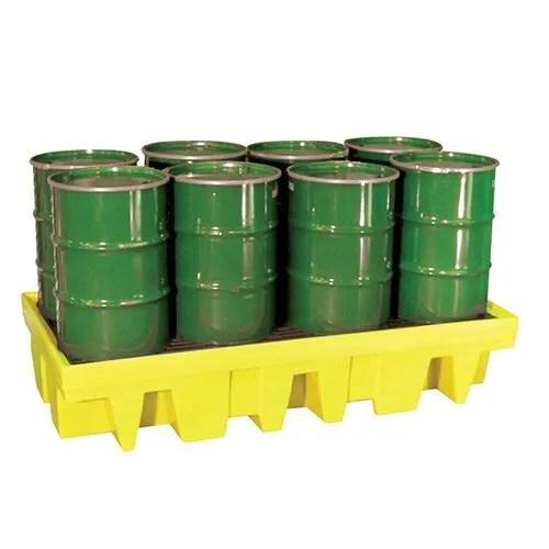 8 Drum Spill pallet